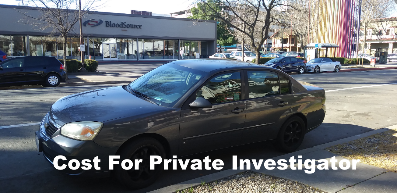 Cost For Private Investigator